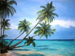 Beach Paradise Painting Event