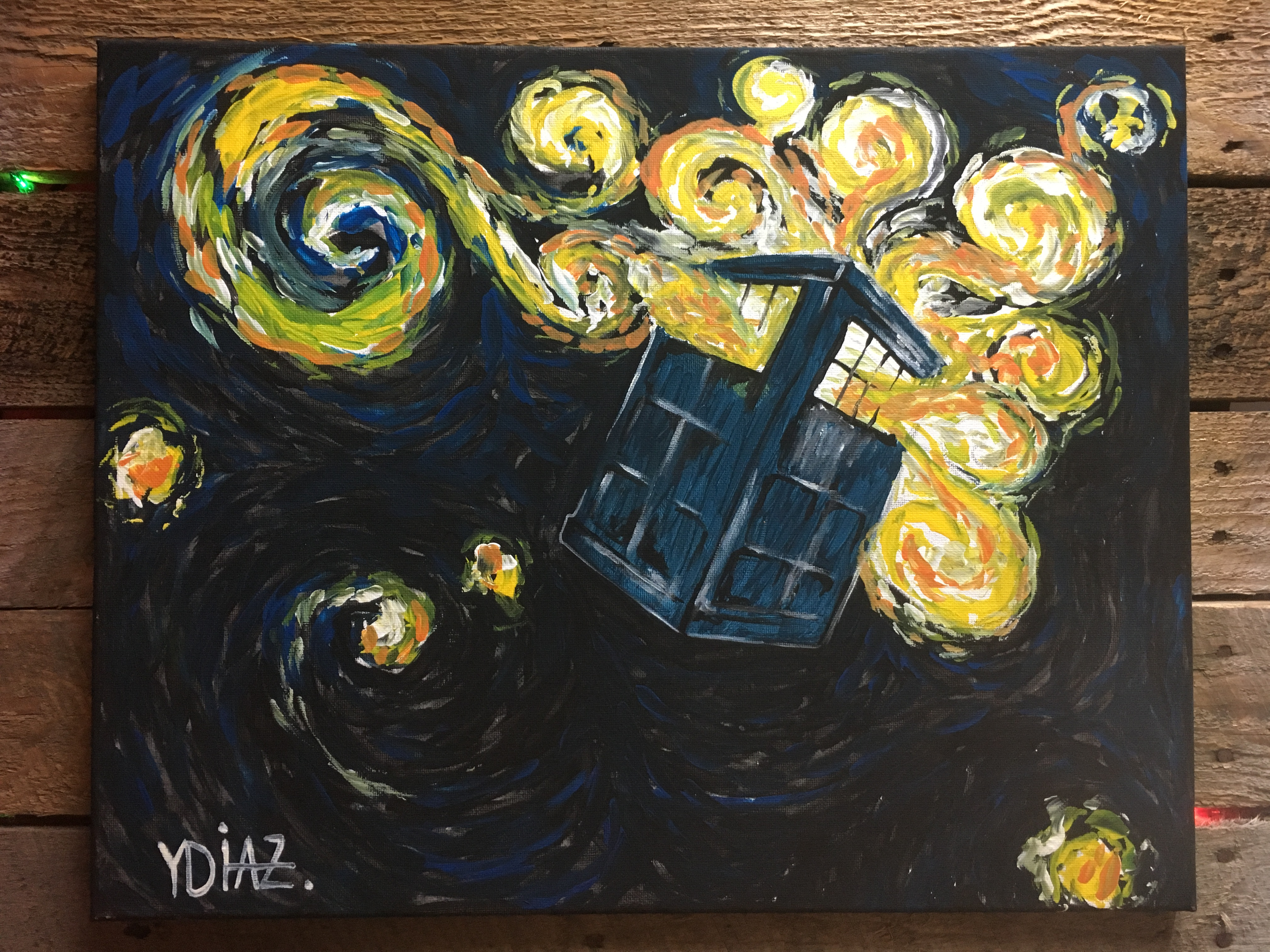 "Dr. Who ""Tardis"" BYOB Painting Event"