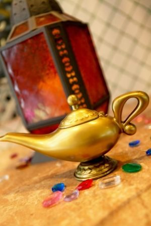 Aladdin's Genie Lamp BYOB Sculpting Event